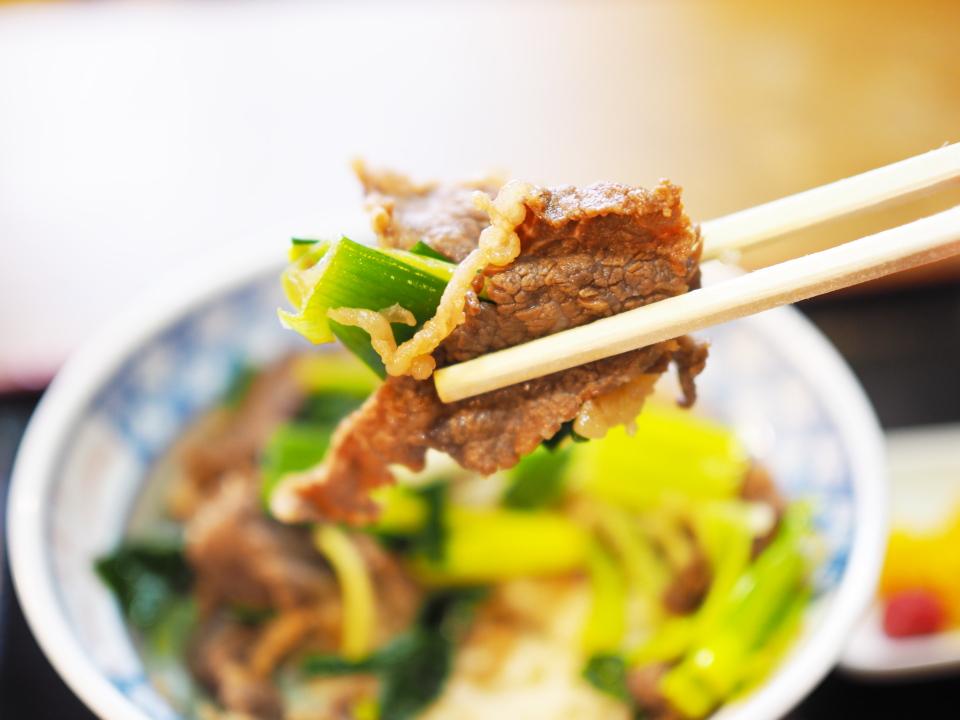 肉丼@力餅