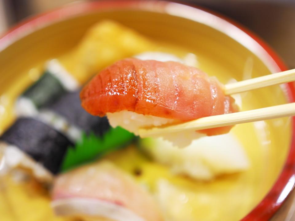 巻寿司定食@きらく寿司