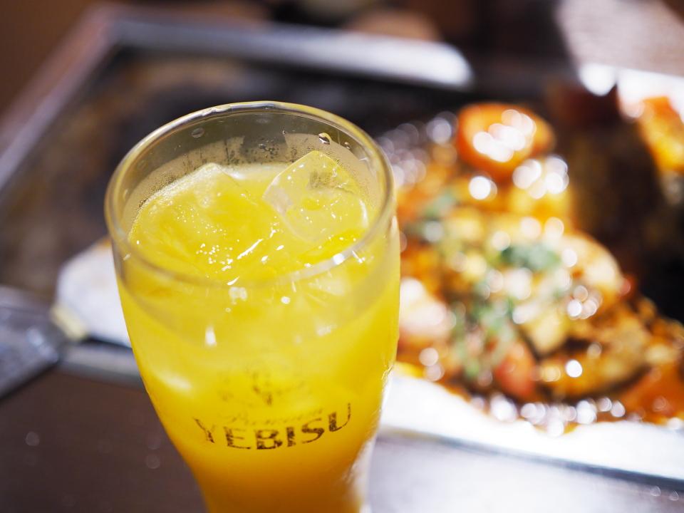 オレンジジュース@京ちゃばな・梅田OS店