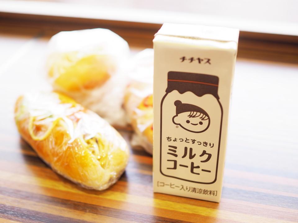 チチヤス・ミルクコーヒー@ぷてぃ・ぼぬーる・フレンドタウン深江橋店