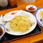 焼めし、餃子@ふくちぁんラーメン・大東店