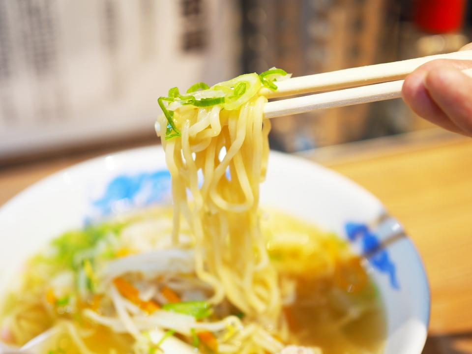 麺リフトwithネギ@ラーメン・めし・芦田屋