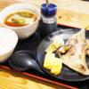 ブリカマとだし巻き定食@大衆串カツ酒場・なかむら・近鉄小阪店
