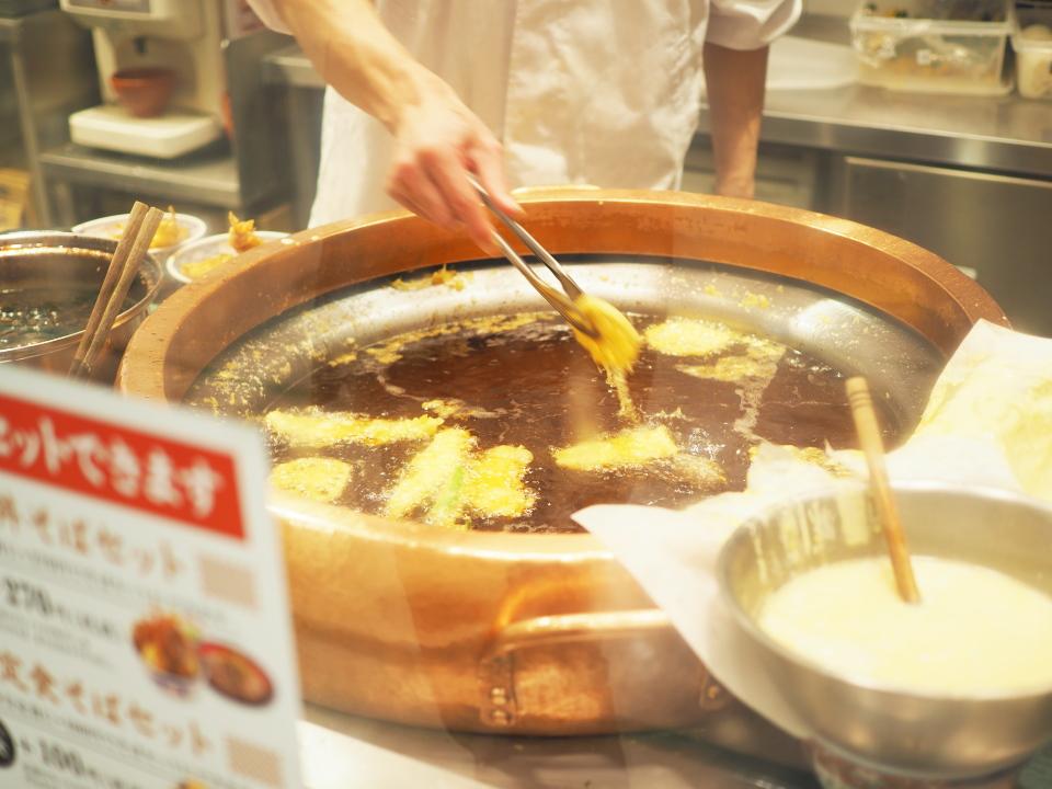 天ぷら鍋@えびのや・イオンモール鶴見緑地店