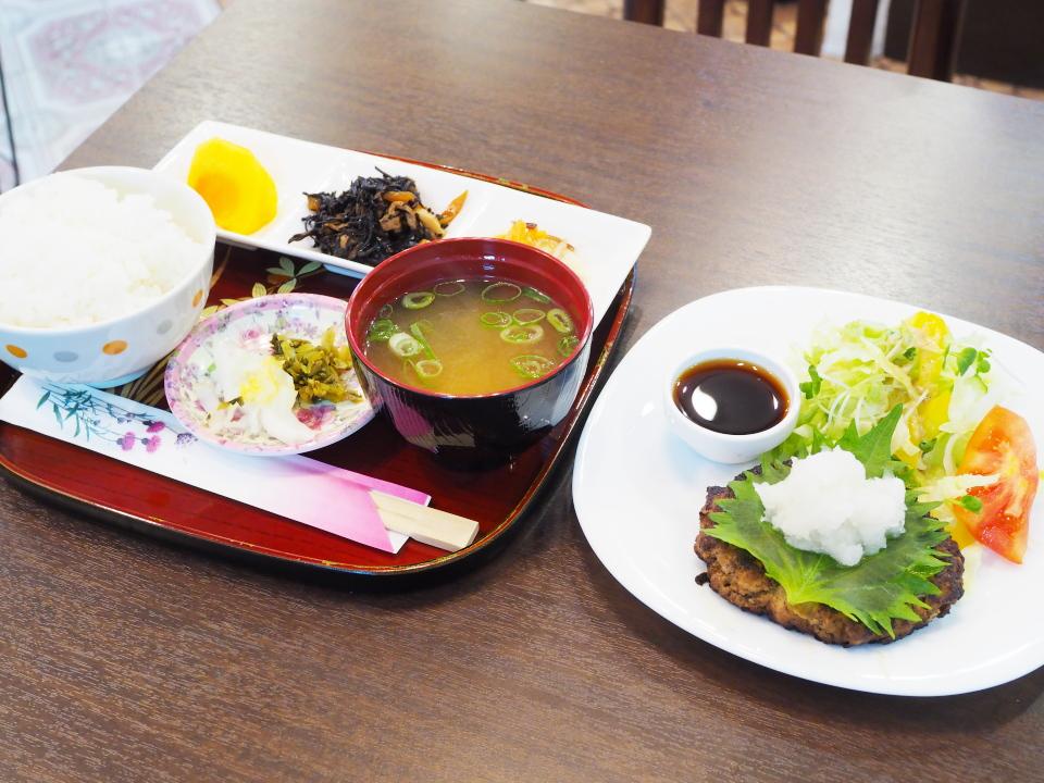 ハンバーグ定食@和食かふぇ幸