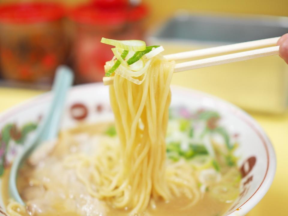 麺リフトwithネギ@天下一品・京橋店
