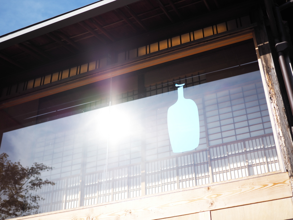 外観@ブルーボトルコーヒー・京都カフェ