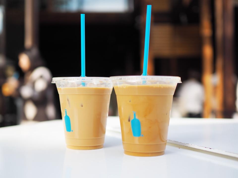 ニューオリンズ、コールドブリュー@ブルーボトルコーヒー・京都カフェ