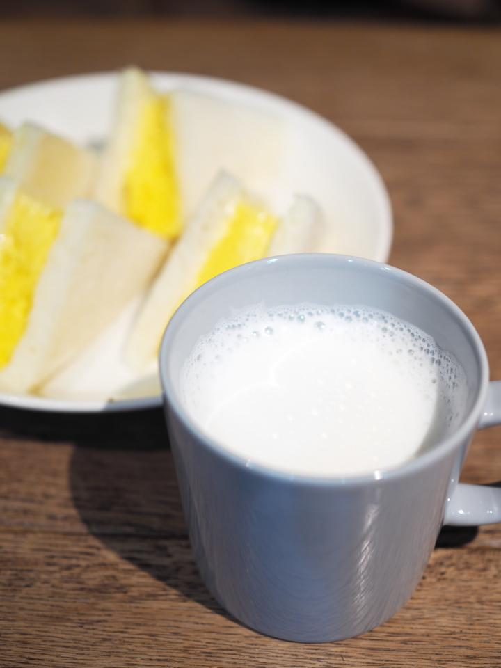ミルク@Drip-X-Cafe