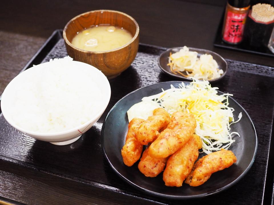 魚天ぷら定食@居酒屋きんやま