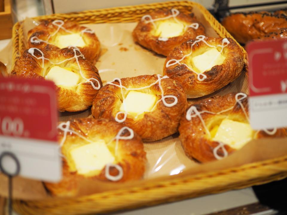 デンマーククリームチーズ@ベーカリー&カフェ・ガウディ