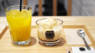 安納焼芋と黒糖ミルクのチェ@スープ・ストック・トウキョウ・ホワイティうめだ店