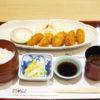 かきフライ定食(赤だし付)@がんこ寿司