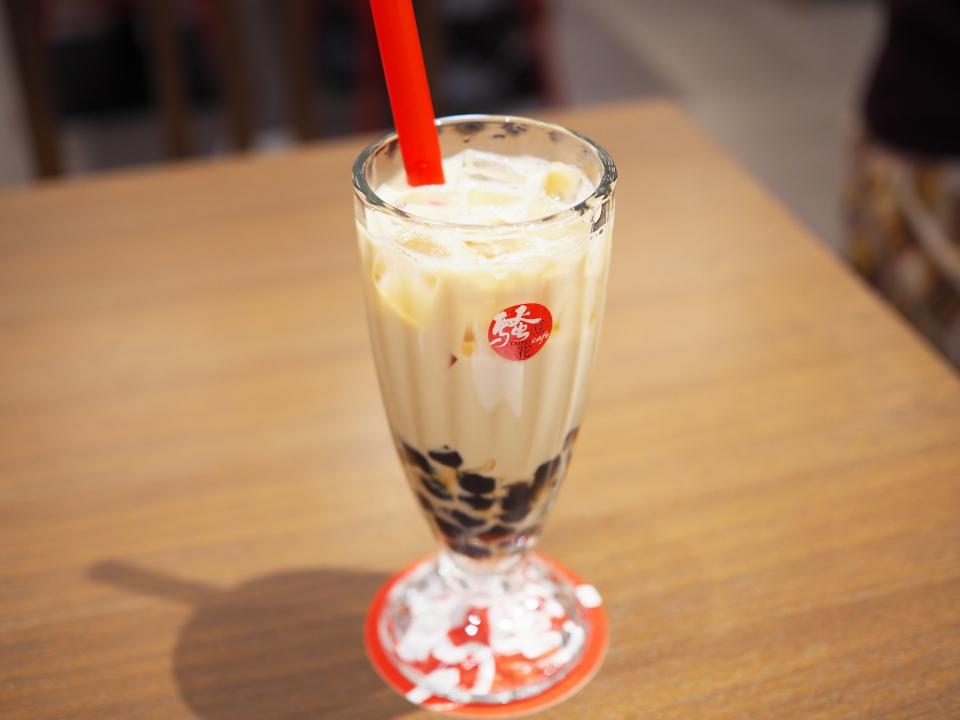 タピオカミルクティ(珍珠奶茶)@騒豆花(Sao Dou Hua)・大阪