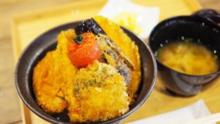 野菜カツ丼@新潟カツ丼・タレカツ