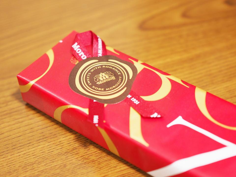 プレーンチョコレート・7個入のシール@モロゾフ