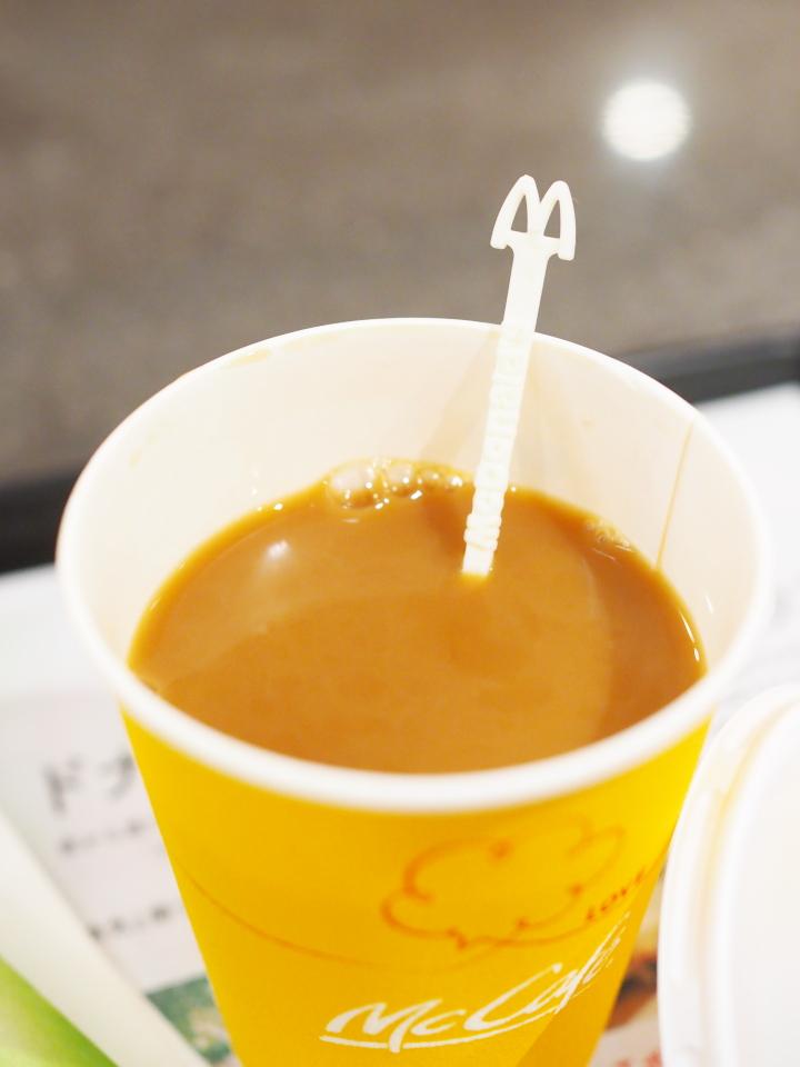 マクドナルドのコーヒーマドラー