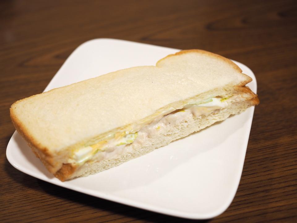 ぷてぃ・ぼぬーるのサンドイッチ