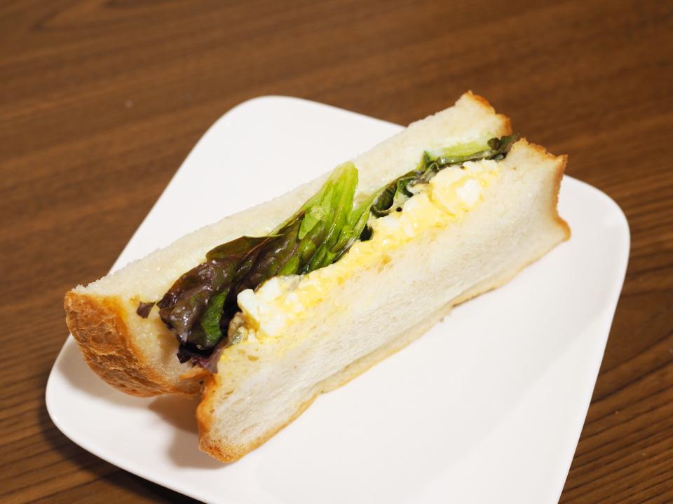 ぷてぃぼぬーるの玉子のサンドイッチ