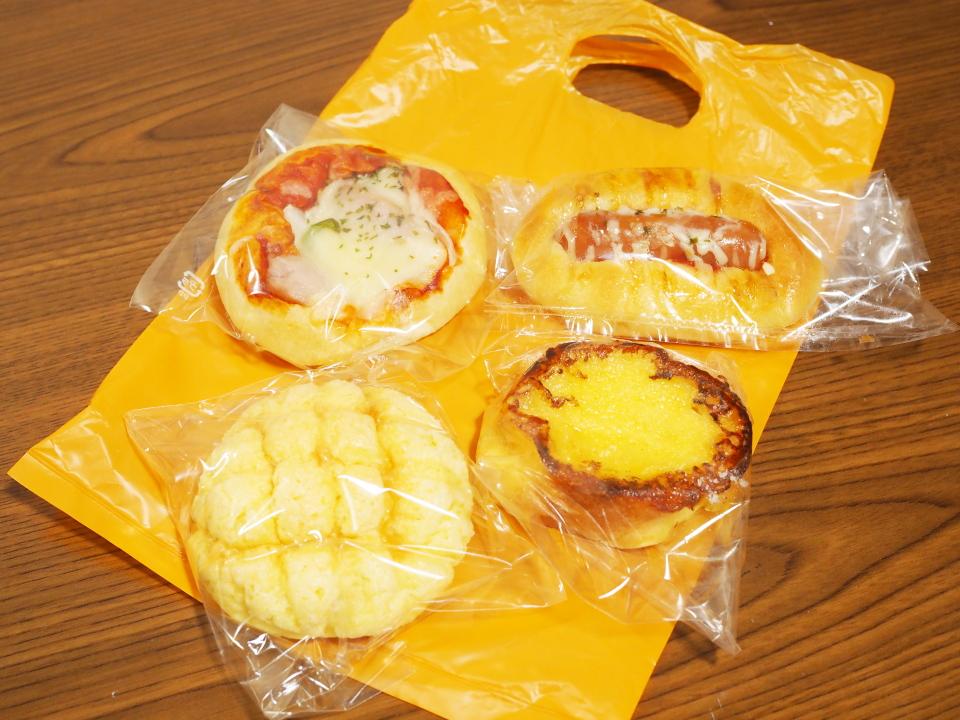 放出のパン屋・ブーランジェリー・レプティ・アンジュのパンは税込100円