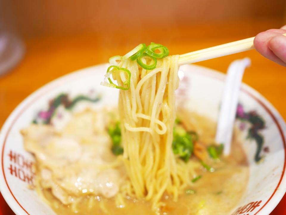 中華そば・丸っ子の麺