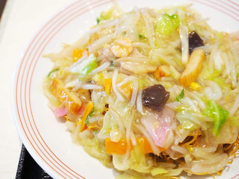リンガーハットの長崎皿うどん