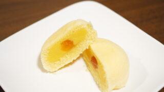 ラグノオのカスタードケーキ・いのち・りんごはカスタードの中にアップルソース