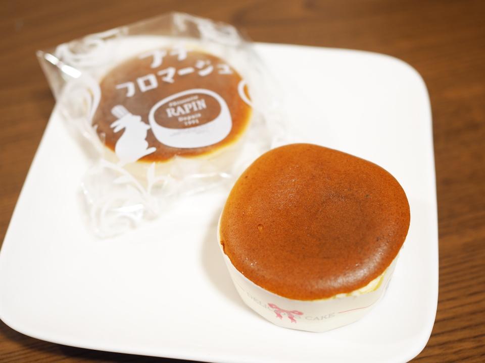 ガモヨンのケーキ屋ラファンのプチフロマージュは軽い食感