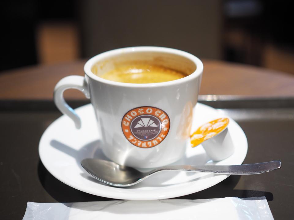 サンマルクカフェのコーヒー(ブレンド)M