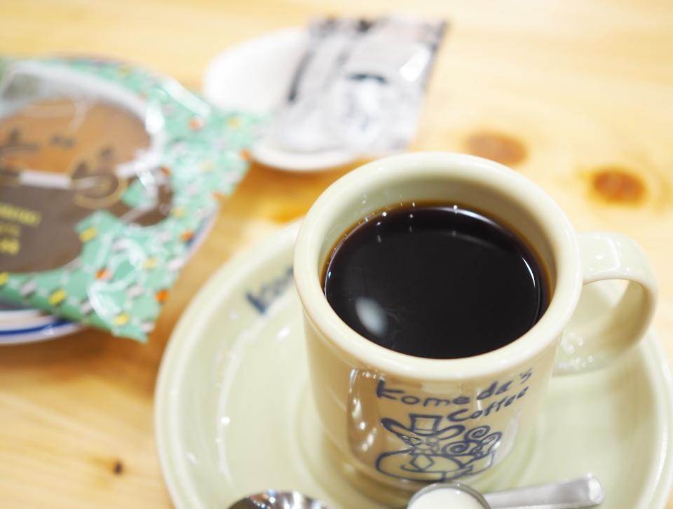 コメダ珈琲のカフェインレスコーヒーはカフェイン97%カット