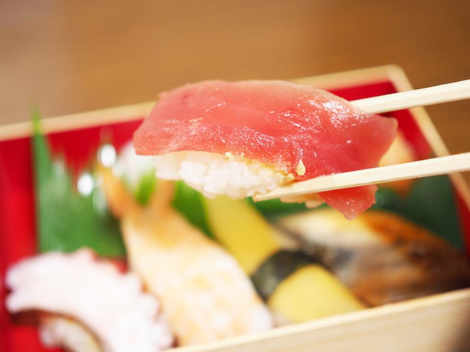 元禄寿司のまぐろ