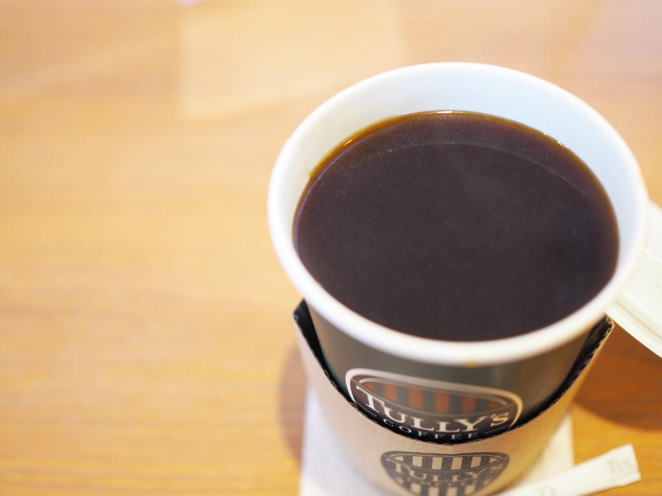 タリーズコーヒーのオーガニックデカフェコーヒー