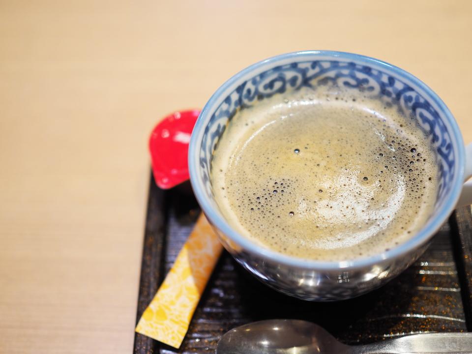 おひつごはん四六時中のホットコーヒー
