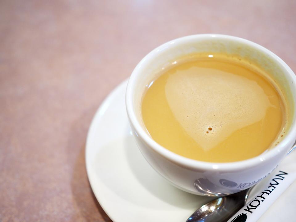 珈琲館ではカフェグラッセも販売
