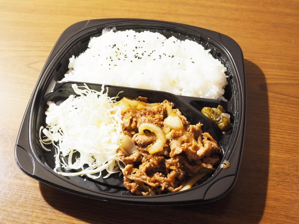 オリジン弁当は牛焼肉弁当の他、うな重(鹿児島県産うなぎ)なんかも
