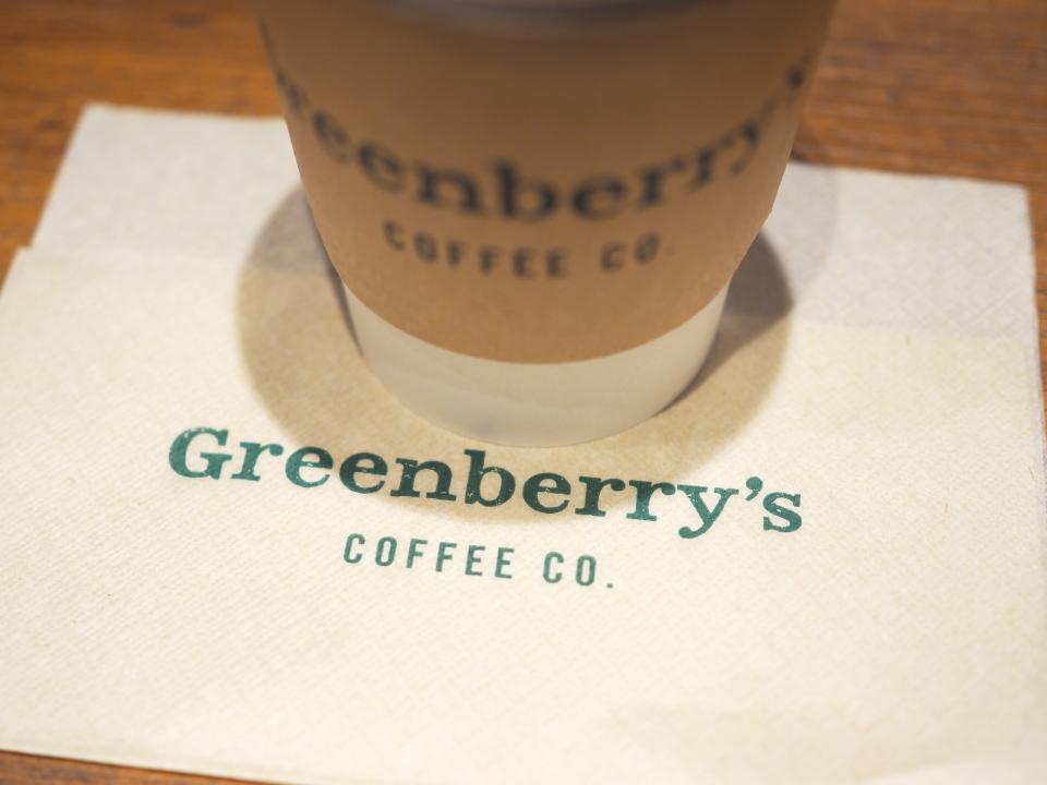 グリーンベリーズコーヒーはアリオ鳳店の他、あべのキューズモール店もあり