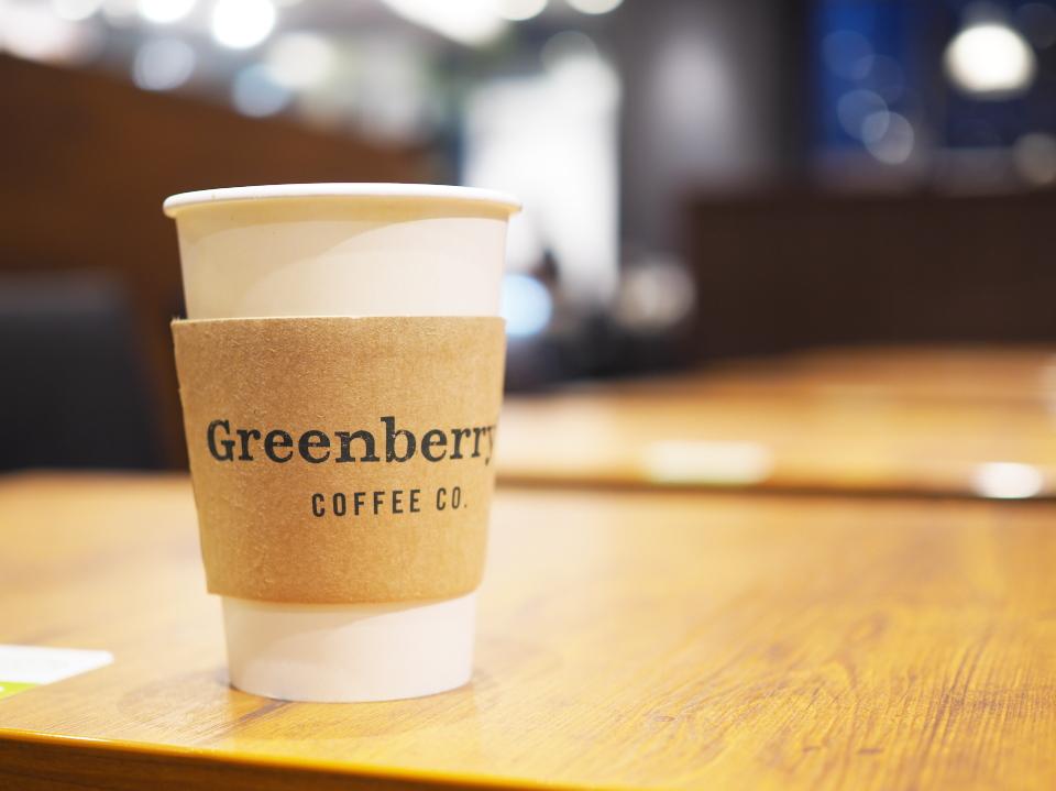 グリーンベリーズコーヒーは、兵庫にも三宮駅前店や宝塚劇場前店などあり