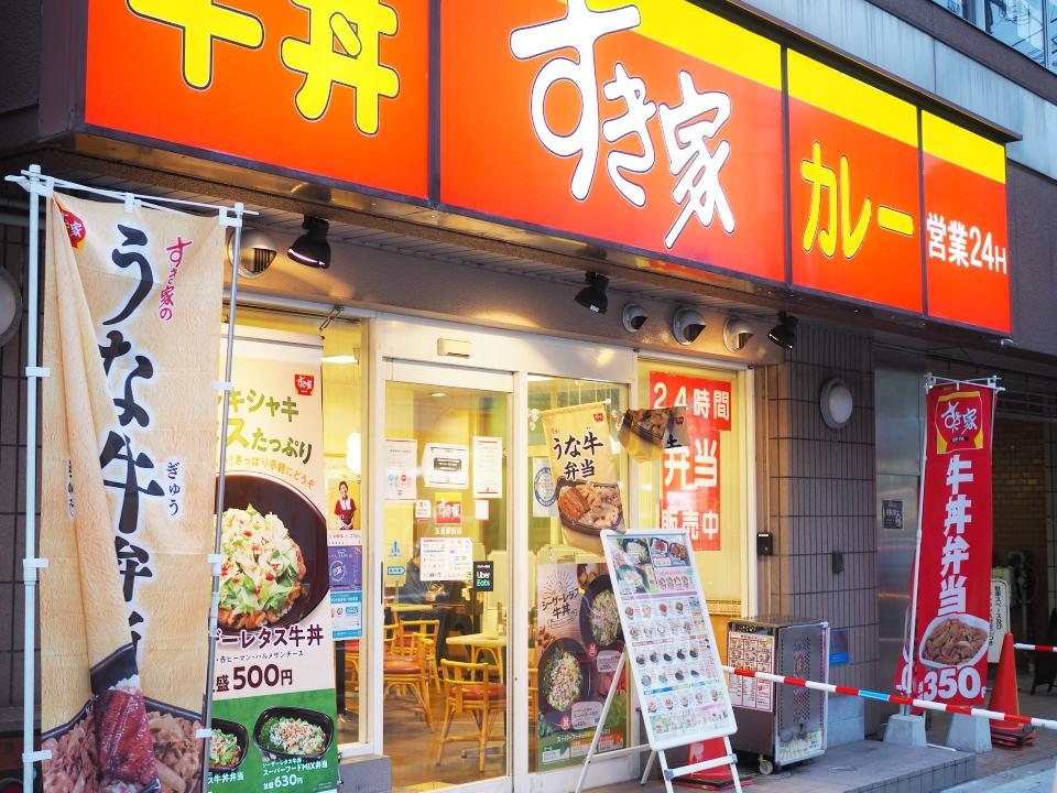 すき家・玉造駅前店へのアクセスはJR玉造駅から徒歩