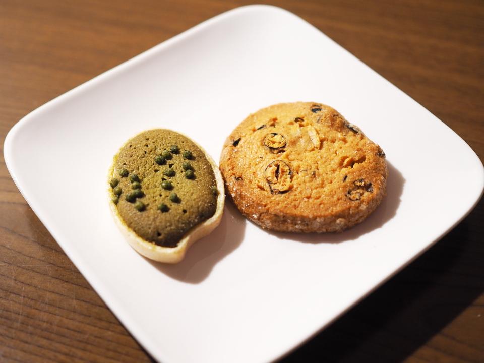五感のええもんサブレは北海道産の発酵バターをクッキーの生地に