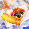 ヴィ・ド・フランスのフレンチトースト(チーズケーキ風)