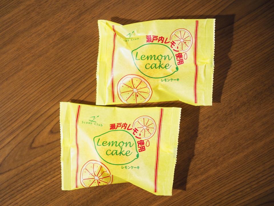 横濱スコーンクラブ・瀬戸内レモン使用のレモンケーキの値段