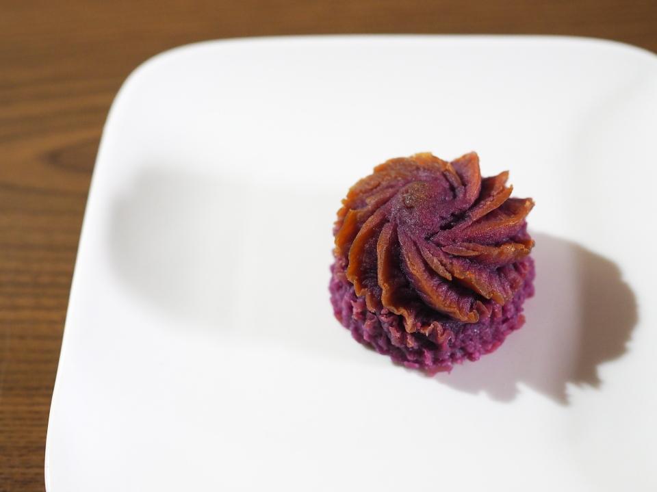 お百姓さんが作ったスイートポテト(むらさき芋)は鳴門金時とむらさき芋