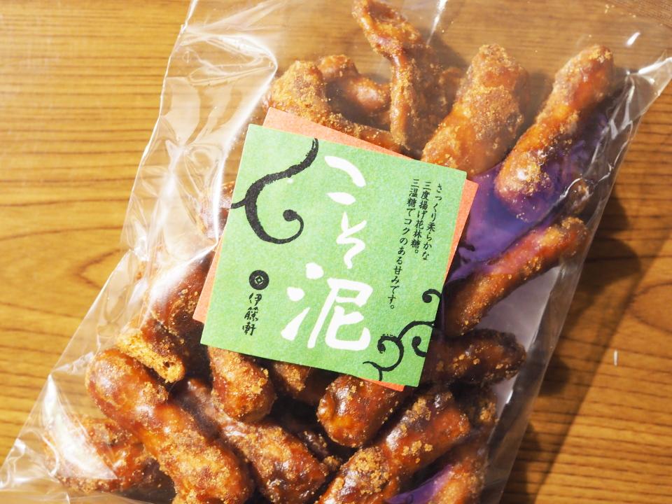 京都のお菓子屋・伊藤軒のこそ泥は三度揚げ花林糖
