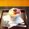 和食さとの桃のドルチェの値段