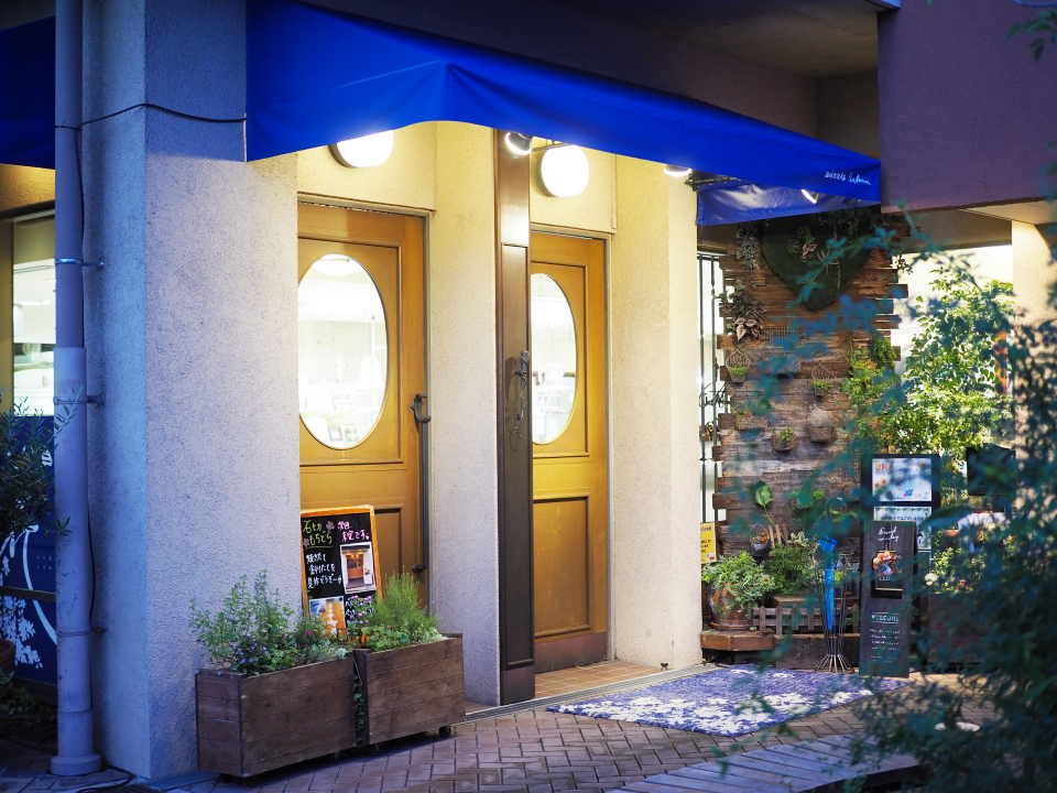 東大阪石切の洋菓子店シェ・アオタニはオンラインショップでもカフェでも